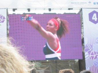 Serena @ London Live