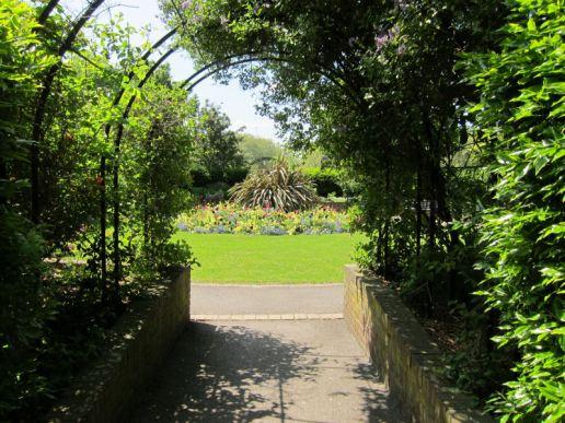Pad Rec knot garden
