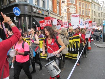Feminist march