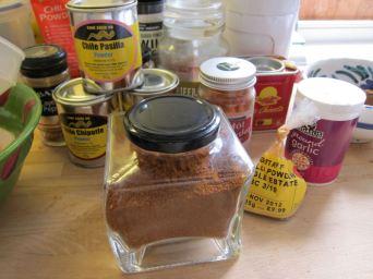 Home made Chilli Powder