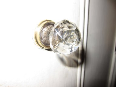 Replacement doorknob to avoid further ninjuries