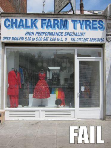 Tyre specialist fail