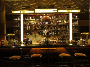 The newly opened 1930s themed Bar Americain @ Brasserie Zedel, Piccadilly Circus.