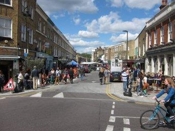 Broadway market, Hackney