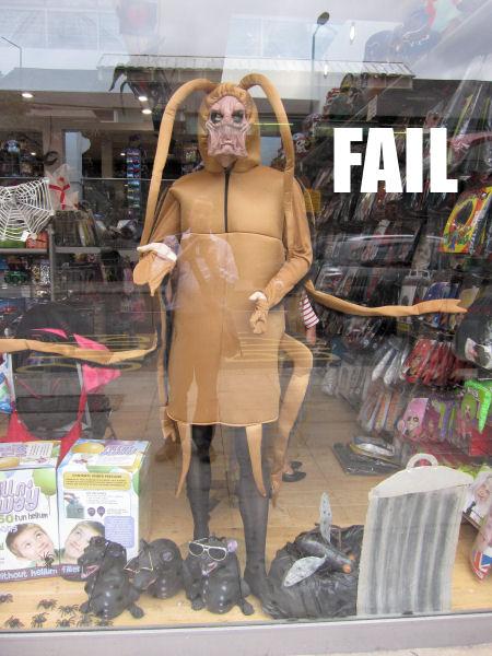10 Predator costume fail
