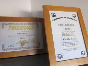 23 My certificates