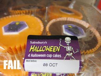 Halloween date fail