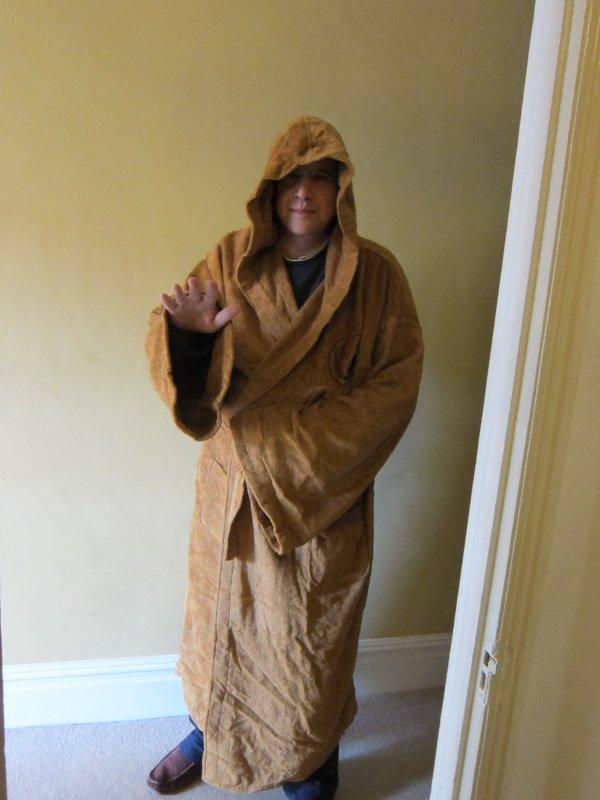 Jedi robe birthday present