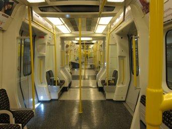 The metropolitan line trains look like something off of Star Trek