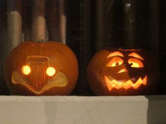 31 Hallowe'en pumpkins