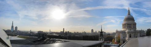 19 View from roof terrace @ One New Change