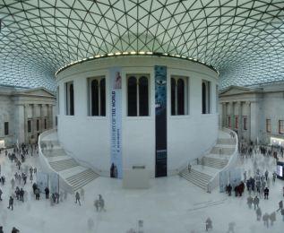 23 Great Court, British Museum.