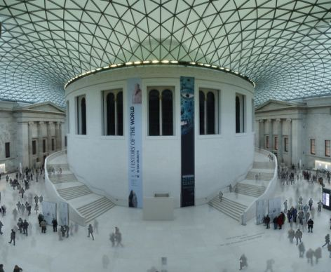23 Great Court, British Museum.