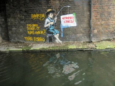 26 Banksy v Robbo graffiti war!