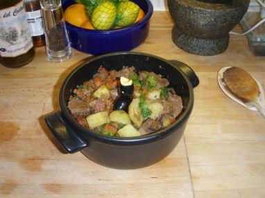 14 Lamb & Potato pie in the making