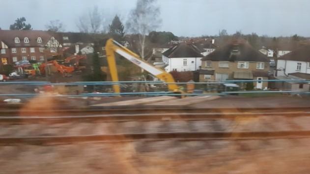 Embankment collapse