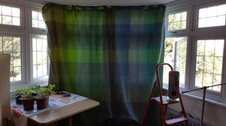 Makeshift curtain