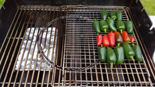 Turning jalapenos into chipotle