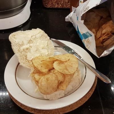 Gourmet crisp butty